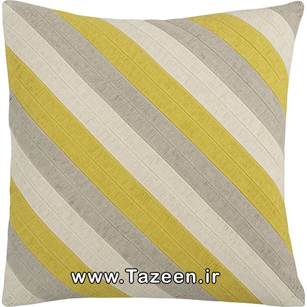 Diagonal-striped-pillow