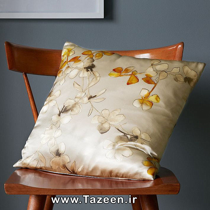 Floral-silk-pillow-cover-in-neutral-shades