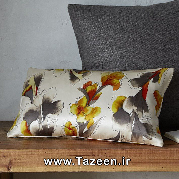 Iris-motif-silk-pillow-cover