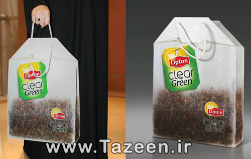 Lipton_Clear_Green_Tea_Bag_Carry_Bag